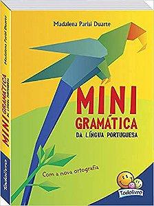 Livro Mini gramatica Da Língua Portuguesa De Bolso