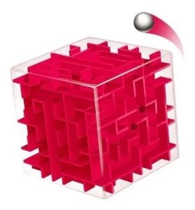 Cubo Mágico Labirinto 3d Puzzle Jogo Educativo anti stress