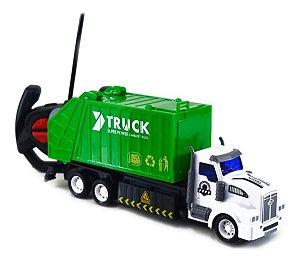 Caminhão Coleta De Lixo Limpeza Urbana Controle Remoto