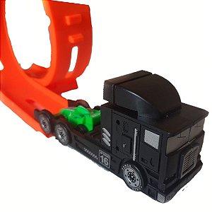 Pista De Corrida Com Lançador Caminhão