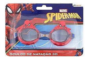 Óculos Natação 3d Spider-man Homem Aranha Marvel Original