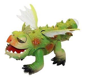 Dinossauro Brinquedo Infantil Dragao Com Luzes Anda Som Real