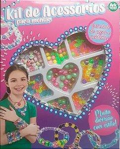 Material Para Fazer Pulseira Correntinha Infantil Kit  Miçangas