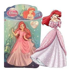 Bonecas Princesas Disney Miniaturas Coleção Unidade Ariel