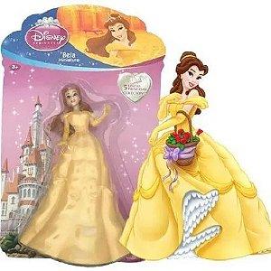 Bonecas Princesas Disney Miniaturas Coleção Unidade Bela