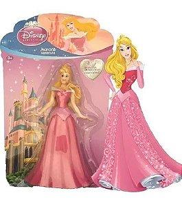 Bonecas Princesas Disney Miniaturas Coleção Unidade Aurora