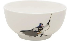 Bowl Tigela Cumbuca Porcelana Batman Dc Comics Oficial 400ml