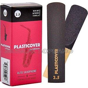 PALHETAS PLASTICOVER PARA SAX ALTO (CAIXA COM 5)