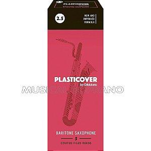 PALHETAS PLASTICOVER PARA SAX BARÍTONO (CAIXA COM 5)