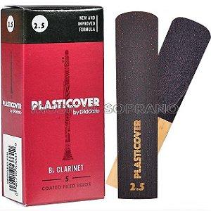 PALHETAS PLASTICOVER PARA CLARINETA (CAIXA COM 5)