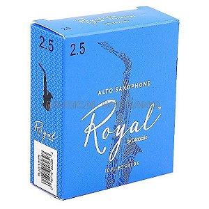 Palhetas Royal para sax alto (caixa com 10)