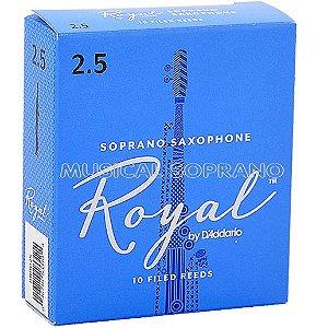 Palhetas Royal para sax soprano (caixa com 10)