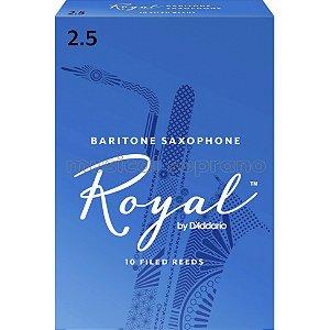 Palhetas Royal para sax barítono (caixa com 10)