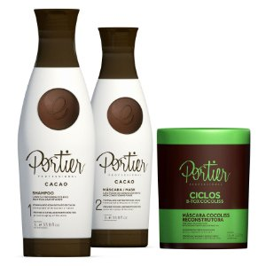 Combo Kit Portier Cacao + Portier Ciclos B-Tox Cocoliss