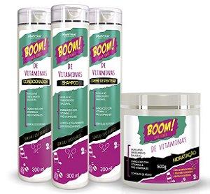 Linha Boom de Vitaminas