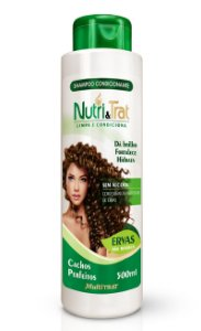 Shampoo Condicionante Nutritrat Ervas