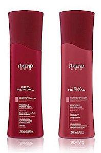 Shampoo e Condicionador Red Revival Amend