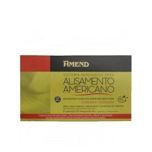 Sistema Integrado para Alisamento Americano Guanidina 01 aplicação Amend