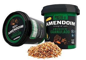 Pasta de amendoim granulada Mandubim 450g