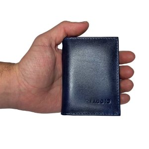 Carteira Pequena Com Porta Cartão E Cnh  - Reaggio