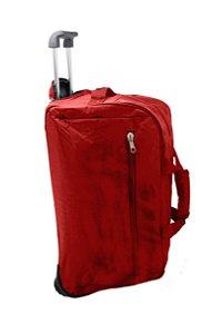 Sacola de viagem com Rodas Vermelha - Julie Henri - NY1115