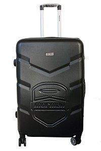 Mala de Viagem em ABS Mormaii  - Cadeado TSA e 4 Rodas 360º - MSVE113401 - Preto
