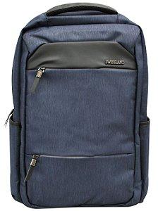 Mochila SWISSLAND Impermeável Notebook Executiva - SL04009 - Azul Marinho