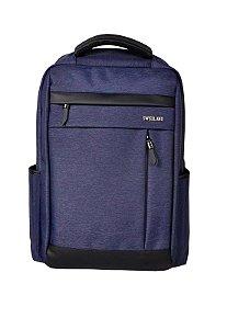 Mochila SWISSLAND Impermeável Notebook Executiva - SL04010 - Azul Marinho