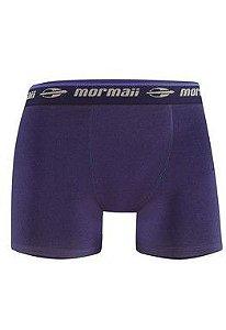 Cueca Boxer em Algodão Mormaii - QE5633-0X01 - Azul Marinho