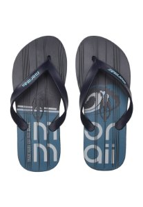 Chinelo Tropical Graphics  Mormaii - Azul/Branco