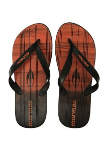 Chinelo Tropical Graphics Mormaii - Preto/Laranja