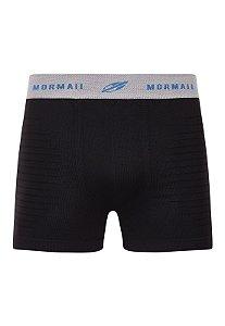 Cueca Boxer em Microfibra sem Costura Mormaii - CE07300088 - Preto