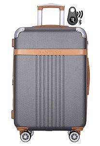 Kit Com Mala De Bordo Athena E Localizador Bluetooth Reaggio - Com Rodas 360º  - Santino - ABGV182