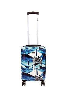 Mala de Viagem Mormaii Estampada Pequena 20 Polegadas - MOV200 - Azul