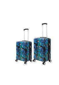 Kit com 2 Malas de Viagem Mormaii Estampada P e M 20 e 24 Polegadas - MOV201J01