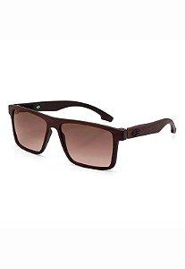 Óculos de Sol Banks - Mormaii - Madeira Marrom Fosco