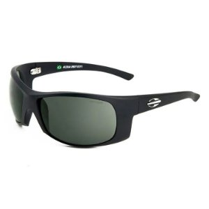 Óculos de Sol Acqua -MORMAII - Preto Fosco - Lente Verde