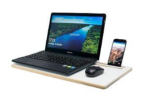 Mesa para Notebook e Celular ou Tablet - em Mdf