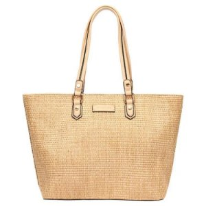 Bolsa Shopping Bag - Mormaii - cor Palha