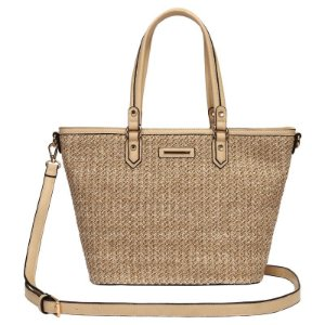 Bolsa Feminina Shopping Bag - Palha - WJ