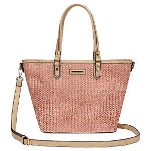 Bolsa Feminina Shopping Bag - Palha - WJ