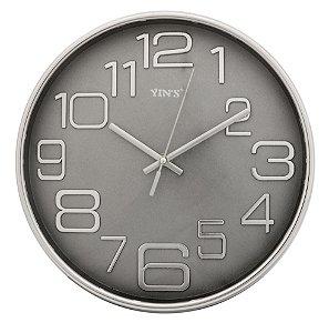 Relógio de Parede Redondo Sortido - 27cm - Números Grandes