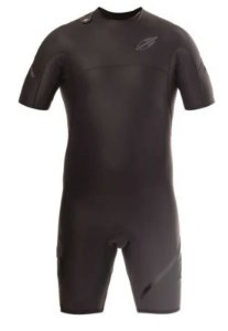 Short John Manga Curta 1mm Masculino Flexxxa Pro Uv-Suit Surf Mormaii