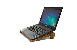 Apoio para Notebook/ Tablet - Madeira Teca