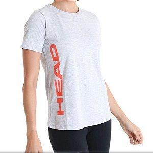 Camiseta Básica Feminina - Head - Logo Lateral