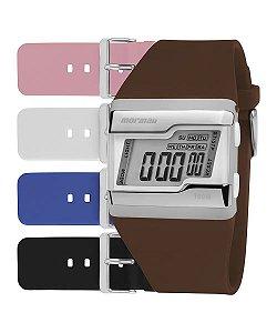 Relógio Mormaii Unissex Tp Prata Fzca/T8S