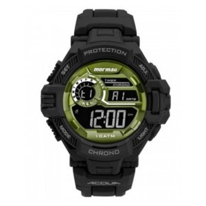 Relógio Mormaii Masculino Action Preto - Mo1134ab/8v