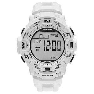 Relógio Digital Mormaii Action Branco Mo1173e/8b