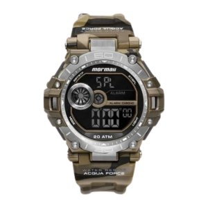 Relógio Mormaii Masculino Pro Marrom Mo14073ab8m