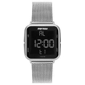 Relógio Digital Mormaii Digi Prata Mo6600ak/7k
